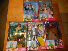 Mattel * Zauberer von Oz * Wizard of Oz * 5 FIGUREN IM SET OV Barbie as Dorothy
