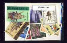 Gibraltar 10 timbres différents