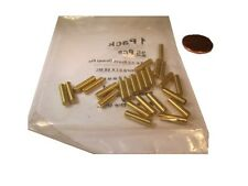 "Brass Dowel Shear Pins 1/8"" Dia x 1/2 Length, 25 Pieces"