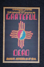 The Grateful Dead Poster 1982 The Downs Santa Fe