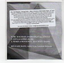 (FE491) Ichi / Rachael Dadd, split single - 2014 DJ CD
