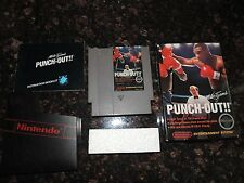 Nintendo NES Mike Tyson's Punch-Out!! Punch-Out Punch Out Complete in Box CIB