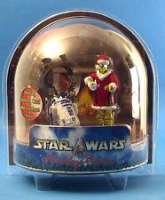 Star Wars Saga Ultra Raro Usa WALMART navideñas exclusivas C-3PO y R2-D2. Sellado