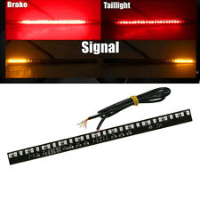 Motorcycle Light Bar LED Rigid Strip Tail Brake Stop Turn Signal Flashing Lights