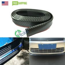 2.5m Body Kit/Bumper Lip/Side Skirt Carbon Fiber Look Edge Decorative Protector