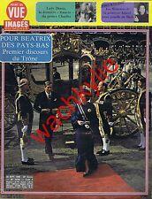 Point de vue n°1678 du 26/09/1980 Reine Beatrix Pays-Bas Lady Diana