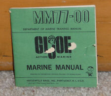 Vintage 1964 GI Joe MM77-00  Marine Manual - Hasbro