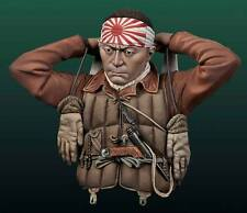 Andrea Miniatures Japanese Kamikaze Pilot WW2 1/10th Bust Unpainted Kit