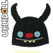 Uglydoll UglyHat Ninja Batty Showgun Black Cap - David Horvath & Sun Min Kim
