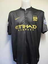 MANCHESTER CITY 2013/14 S/S AWAY SHIRT  BY NIKE SIZE ADULT XL BRAND NEW