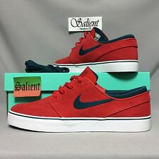 Nike SB Zoom Stefan Janoski UK9 333824-613 EUR44 US10 Suede Red max koston bruin