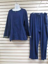 NWT - SPORT SAVVY 2 PIECE OUTFIT JACKET & PANTS, NAVY BLUE, SIZE LARGE