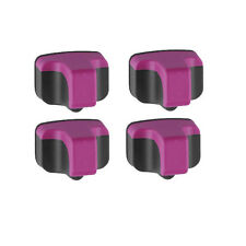 4 PK MAGENTA Ink Cartridge for HP 02 C8772WN Photosmart Printers High Quality