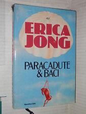 PARACADUTE E BACI Erica Jong Euroclub 1985 libro romanzo narrativa storia di