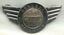 Circa 1970's-1980's General Dynamics Corporate Pilot Hat Badge