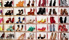 D3T WHOLESALE LOT 250 PairS Womens High Heel Platform Wedge Pumps Boots shoes
