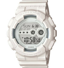 Casio GD100WW-7 Men's Monotone All White World Time Alarm Chrono G Shock Watch