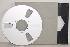 ORIGINAL 10.5 REVOX EMPTY METAL SPOOL in REVOX BOX / REEL TO REEL PARTS