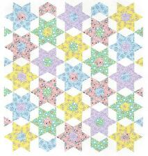 Star Bouquet English paper piecing quilt pattern by Paper Pieces