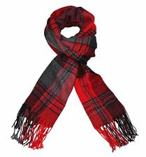 ITZU Apparel Co Luxurious Feel Multi Check Plaid / Lumberjack.Tartan Scarf Wrap