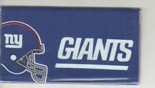 NEW YORK GIANTS CHECKBOOK COVER  FOOTBALL FABRIC NEW GO BIG BLUE