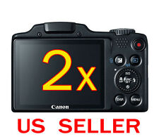 2x Canon PowerShot SX510 HS Camera Clear LCD Screen Protector Guard Shield