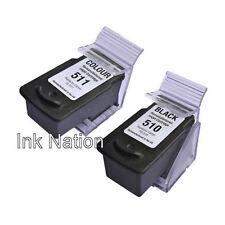 PG510 Black CL511 Colour Ink Cartridge For PIXMA MP495