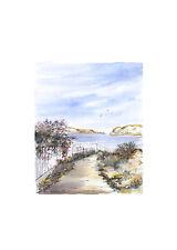 Karin Andersen Landschaft Nr. 4 Poster Kunstdruck Bild 70x50cm - Portofrei