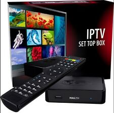MAG254/255IPTV SET-TOP BOX INFOMIR ORIGINALE OFFERTA POWER ON SRL