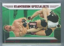 2011 Topps UFC Frank Mir RUBY RED PARALLEL INSERT #ES-FM 7/8 MMA