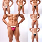 New Mens Hot Sexy Thong Bikini Pouch Underwear T-back G-String Briefs Underpants