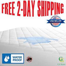 QUEEN Box Spring Bed Bug Protector Waterproof Zippered Allergy Relief