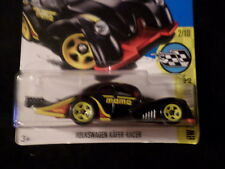 HW HOT WHEELS 2017 HW SPEED GRAPHICS #2 VW VOLKSWAGEN KAFER RACER BLK HOTWHEELS