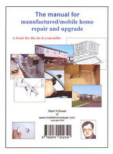 Book - Manual for manufactured/mobile home repair & upgrade #5100