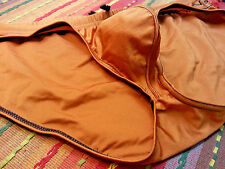 N2N Men's Sexy Copper Bikini Swimsuit - Unlined Pouch - Nylon/Spandex Size XL