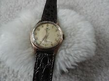 Technos Junior 15 Jewels Ladies Wind Up Watch - Leather Band