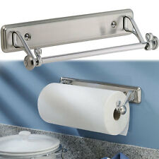 New York Kitchen Wall-Mount Paper Towel Holder, Stainless Steel Finish