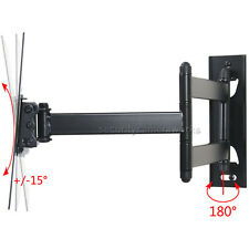 "Articulating LCD LED TV Wall Mount for LG Samsung Vizio 24 28 32 40 42"" Tilt bn1"