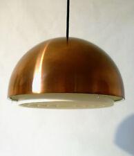 """60s Louis Poulsen Lampe """"Louisiana"""" Wohlert Ø 30cm copper pendant lamp annees 60"""