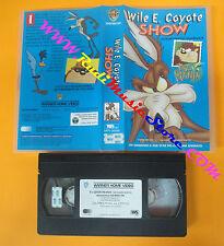 VHS film WILE E. COYOTE SHOW TAZ MANIA 1994 WARNER MPV 00066 (F110) no dvd