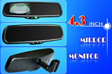 "REVERSING MIRROR 4.3"" OEM STYLE FOR FORD PX RANGER XL XLS & MAZDA BT50  & CAMERA"