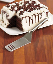 CUT AND SERVE SPATULA ~ STAINLESS STEEL ~GREAT FOR PIES~CAKES ~LASAGNA ~BARS~NIP