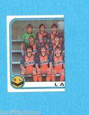 FRANCIA-FOOTBALL 83-PANINI-Figurina n.74- SQUADRA SX/EQUIPE -LAVAL-Recuperata