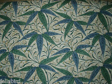 "WILLIAM MORRIS CURTAIN FABRIC DESIGN ""Bamboo"" 1.9 METRES THYME/ARTICHOKE"