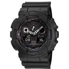 Casio G Shock Mens Watch GA-100-1A1ER Alarm Chronograph