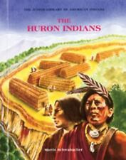 Huron Indians (Jrs) (Junior Library of American Indians)-ExLibrary