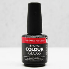 Artistic Nail Design    PART A Colour Gloss Soak Off Gel Colour - SHIP IN 24H