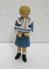 DOLLS House 1:12 scala ragazza VITTORIANA CON STAGNO BARCA Dolls House figure