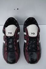 ADIDAS Y-3 YOHJI YAMAMOTO GENUINE VINTAGE LEATHER MENS FIELD TRAINERS UK 7