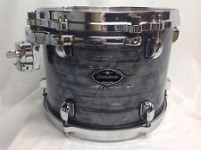 "Tama Starclassic Birch/Bubinga 12"" Diameter X 9"" Deep Mounted Tom/Charcoal Onyx"